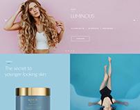 Cosmetics Ecommerce UX / UI
