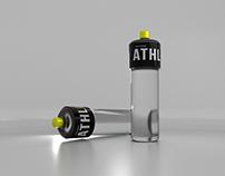 Athlos Water Packaging Design