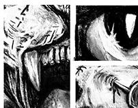 Casa da Dor - (House of Pain) Sketchbook & HQ