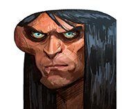Conan The Barbarian (Character Design)