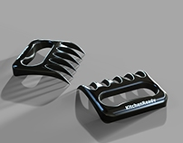 3D Grill Combs