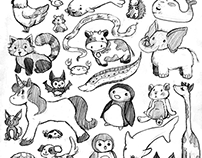 Sketchbook Collection 1