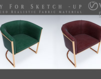 V-ray for Sketch-up Series #1 Fabric Material