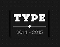 Logo Type Design 2014 - 2015