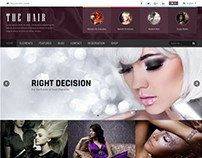 Hair - WordPress Theme for Hair Salons