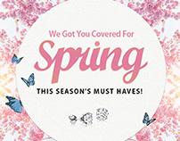 Spring Campaign - E-Commerce Campaign