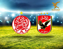 Alahly VS W.A.C Social Media Posts (Falcon)