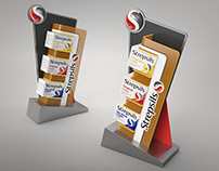 Strepsils Counter Display Design