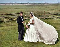 Senator John F. Kennedy and Jacqueline Kennedy, 1953