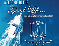 Advertisement for Yacht Club