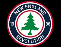 New England Revolution Rebrand