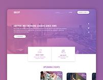 Modern Community Web design