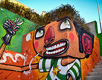 Highlife Magazine: Italian street artist Mr. Thoms 2015