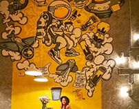 Coffee Revolution Mural