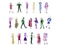American Horror Story Characters - (WIP) Fan Art Series