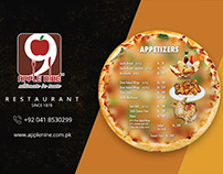 Menu Card / Table Tent Card Design