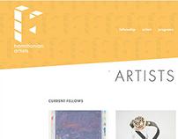 Hamiltonian Artists Website