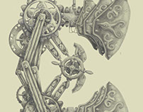 Steampunk Letter