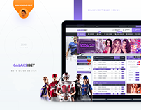 Galaksibet UI/UX Design