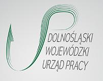 Projekt logo urzędu pracy/ II