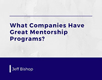 What Companies Have Great Mentorship Programs?