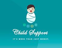 childsupport branding logo