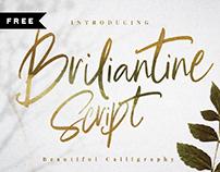 FREE | BRILIANTINE SCRIPT