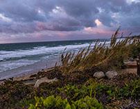 Looking north at Del Mar Beach