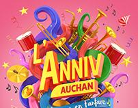 L'anniversaire Auchan
