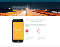 Again Landing template - Html/Css Free Download