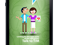 Talk To Tim - Travel Insurance Mobile Application
