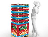 SpaghettiOs Pallet Wrap
