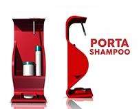 Porta Shampoo - shelves