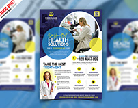 Creative Healthcare and Pharmacy Flyer PSD