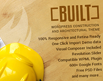 Built - Wordpress Construction Theme