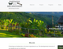 Website development project for NGO working in PNG