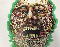 Zombie Maggot Beard