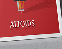 Altoids Illustrative Advertising