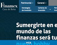 Finamex Website