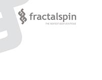 Fractalspin Online Store Letterhead & Logo