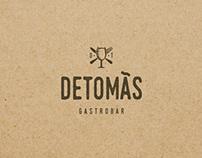 Branding DeTomás Gastrobar