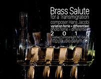 Cover for: Brass Salute for a Transmigration