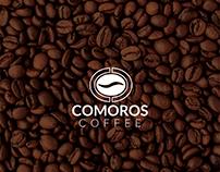 Comoros Coffee Logo & Packaging Design