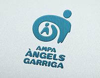 Logo AMPA Àngels Garriga