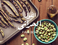 Fava Beans | Food Photography