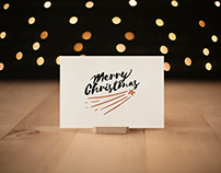 Photorealistic Invitation&Greeting Card Mockup Vol 6.0
