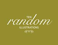 10 Random Illustrations