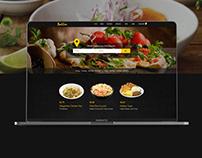 Online Food Delivery Website UI Design