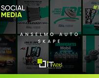 Social Media | Anselmo Auto Skape #1