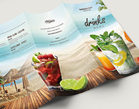 Beach Drinks Menu